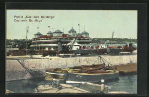 AK Lourenco Marques, Capitania Buildings, Gebäude am Hafen