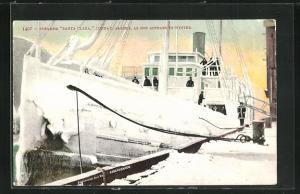 AK Juneau, AK, Steamer Santa Clara, as she appear in winter