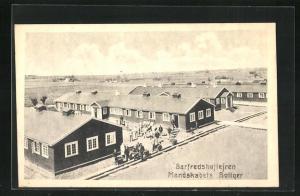 AK Barfredshöjlejren, Mandskabets Baliger