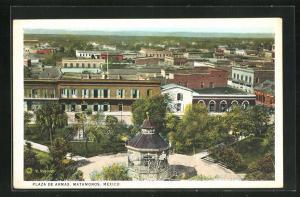 AK Matamoros, Plaza de Armas, Pavillon