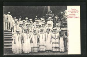 AK Chunchucmil, Yucatan, Fiestas presidenciales, Grupo de mestizas