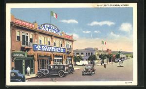 AK Tijuana, 2nd Street, Hotel America