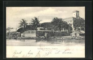 AK Tampico, Entrada al Puerto