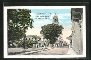 AK Santo Domingo, Calle Separacion