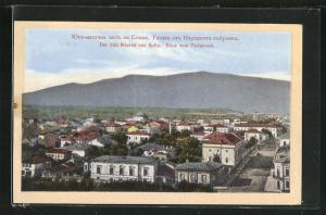 AK Sofia, Der Süd-Westen, Blick vom Parlament