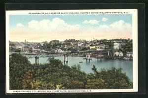 AK Santo Domingo, Bridge and Ozama River