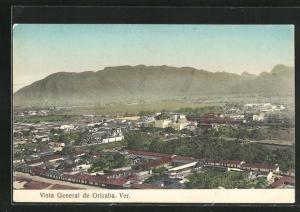 AK Orizaba, Vista General, Teilansicht der Stadt