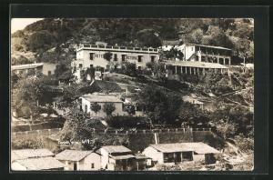 AK Taxco, Teilansicht mit Hotel Victoria