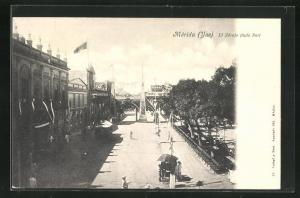 AK Mérida, El Zócalo (lado Sur)