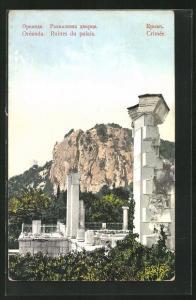 AK Oreanda, Crimee, Ruines du palais