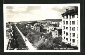 AK Varna, Boulevard G. Dimitrov aus der Vogelschau