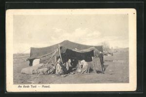 AK Mosul, An Arab Tent