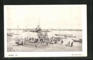 AK Basra, The river front