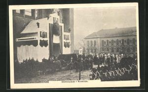 AK Roskilde, Bisaettelsen i Roskilde