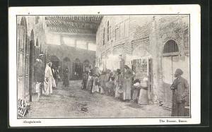 AK Basra in Mesopotamia, The Bazaar