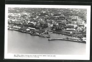 AK Lourenco Marques-Maputo, Partial Aerial view of City
