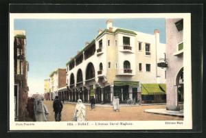 AK Rabat, L` Avenue Dar-el-Maghzen