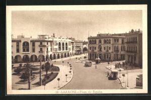 AK Larache, Plaza de Espana