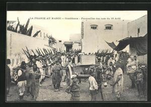 AK Casablanca, Funèrailles des tuès du 18 Aout