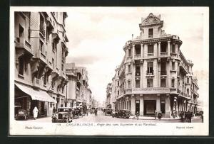 AK Casablanca, Angle des rues Guynemer et du Marabout
