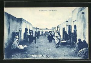 AK Oued-Zem, Rue Indigène