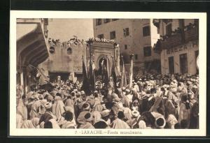 AK Larache, Fiesta musulmana