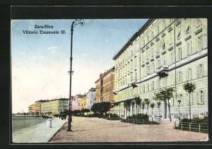 AK Zara, Riva Vittorio Emanuele III.