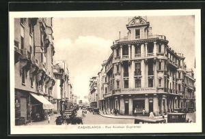 AK Casablanca, Rue Aviateur Guynemer