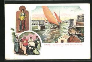 AK Caire, Ouverture du Pont de Kasr el Nil