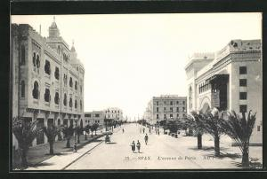 AK Sfax, L` avenue de Paris
