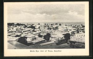 AK Zanzibar, Birds Eye viev of Toun