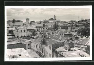 AK Zanzibar, Ortsansicht aus der Vogelschau