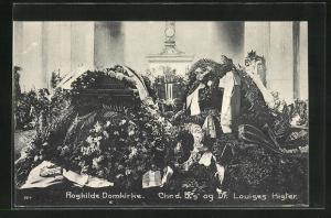 AK Roskilde, Domkirke-Chr. d IX.og Dr. Louises Kister