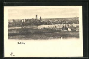 AK Kolding, Gesamtansicht des Orte