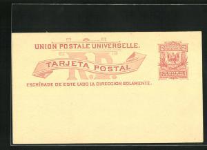 AK Dominikanische Republik, Postkarte als Ganzsache