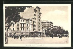 AK Casablanca, Place de Verdun