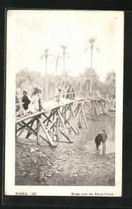 AK Basra, Bridge over the Khora Creek