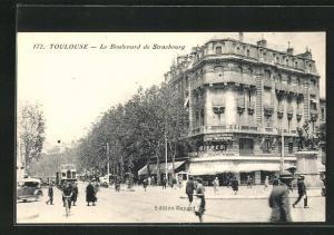 AK Toulouse, Le Boulevard de Strasbourg