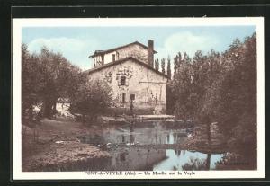 AK Pont-de-Veyle, Un Moulin sur la Veyle