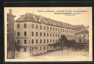 AK Bourg-en-Bresse, Grand Hotel de l`Europe