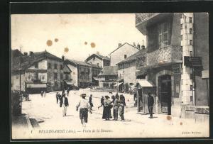 AK Bellegarde, Visite de la Douane