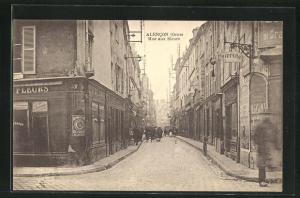 AK Alencon, Rue aux Sieurs