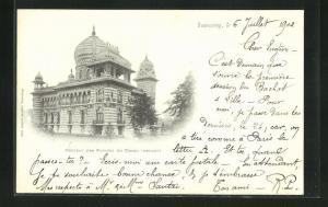 AK Tourcoing, Chateau des Princes du Congo (Devant)