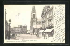 AK Tourcoing, La Rue Carnot