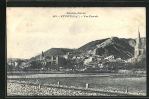 AK Veynes, Vue Centrale, Ortsansicht