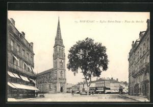 AK Bergerac, Eglise Notre-Dame, Place du Marchè