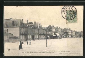 AK Bergerac, Place Gambetta, la Sous-Prèfecture
