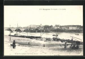 AK Bergerac, Les Quais, Schiffe