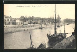 AK Libourne, Le Quai et les Rives de l`Isle