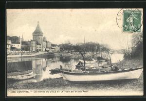 AK Libourne, Les Bords de L` Isle et la Tour du Grand Pont